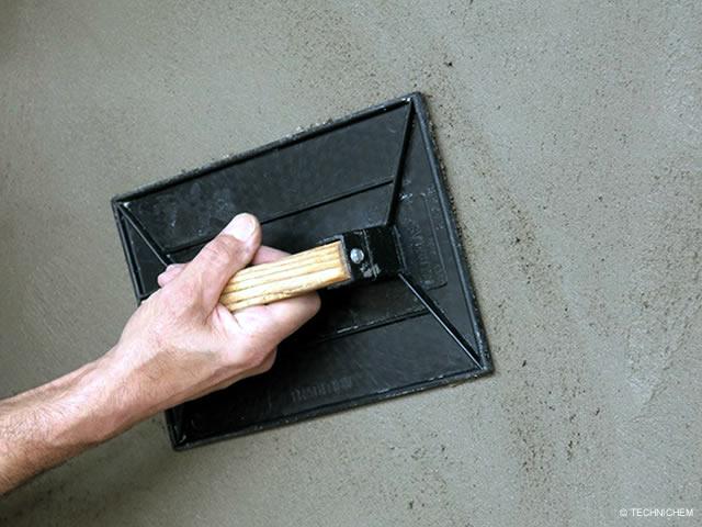 enduit tanche base ciment pour murs enterr s pr t l. Black Bedroom Furniture Sets. Home Design Ideas