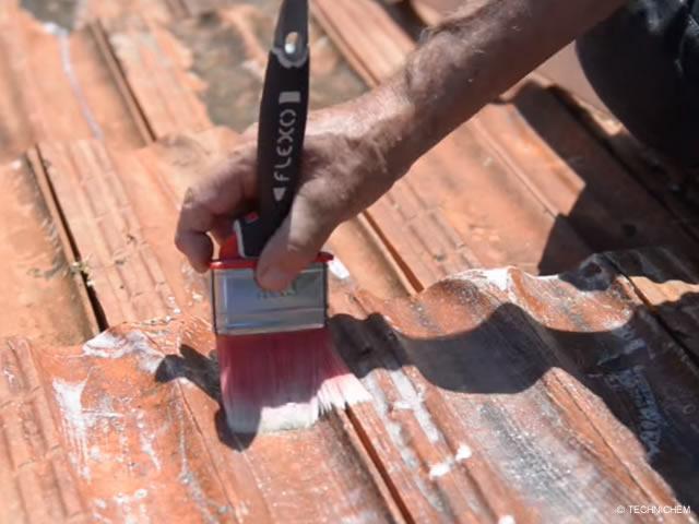 Hydrofuge incolore pour toiture en tuiles terre cuite et - Peinture pour toiture tuile beton prix ...